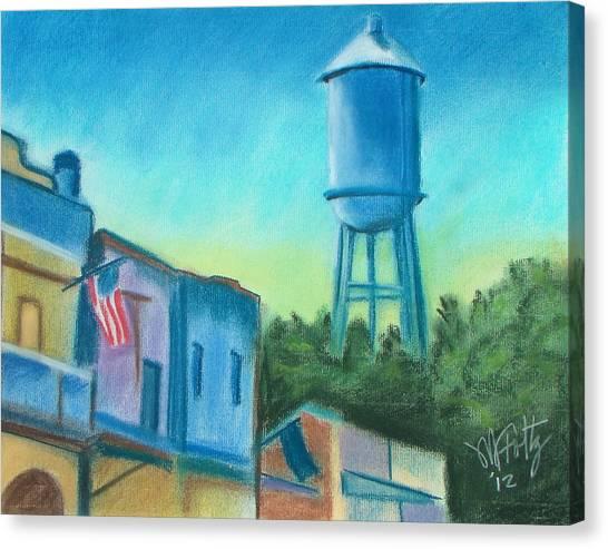 Isleton Old Town Canvas Print