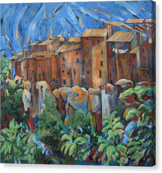 Isola Di Piante Large Italy Canvas Print