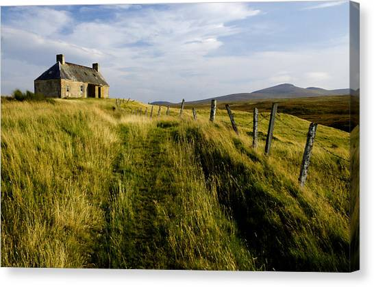 Isolation 2 The Northern Highlands Scotland Canvas Print
