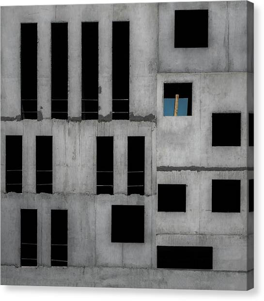 Construction Canvas Print - Isolation Cell by Gilbert Claes