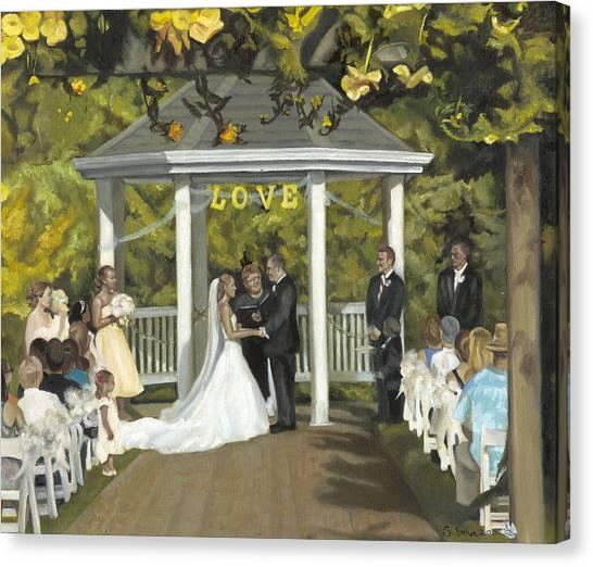 Issaquah Wedding  Canvas Print