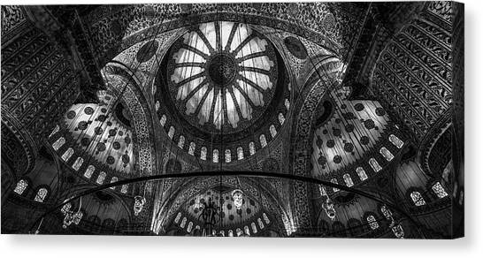 Turkeys Canvas Print - Istanbul - Blue Mosque by Michael Jurek