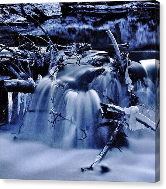Waterfalls Canvas Print - It All Flows by Cody Haskell