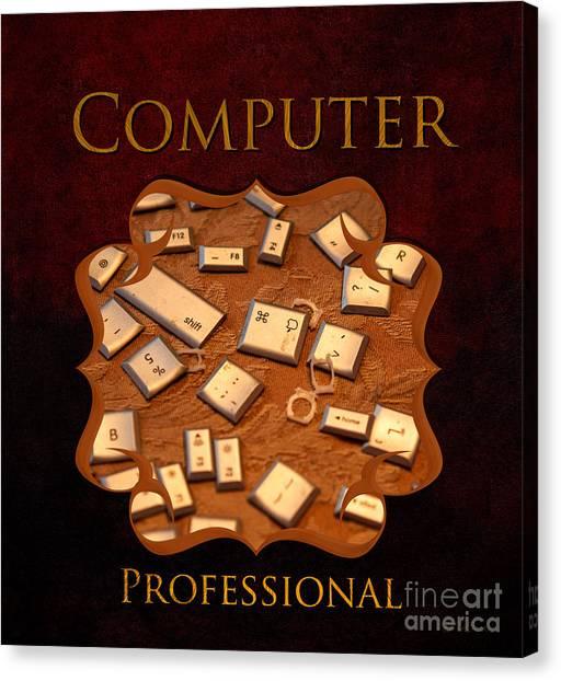 It Professional Canvas Print - It Computer Professional  by Iris Richardson