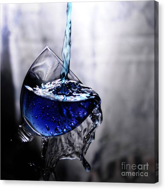 It Is Blue Canvas Print