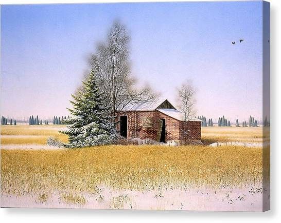 It Is Sunday Canvas Print by Conrad Mieschke