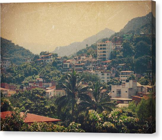 Puerto Canvas Print - It Was Years Ago by Laurie Search