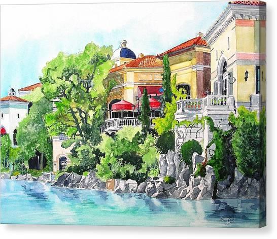 Italian Fantasy Canvas Print