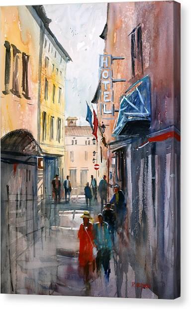 Italian Impressions 3 Canvas Print