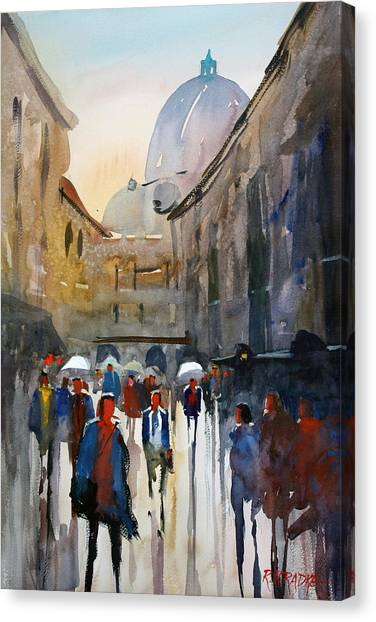 Rome Canvas Print - Italian Impressions 5 by Ryan Radke