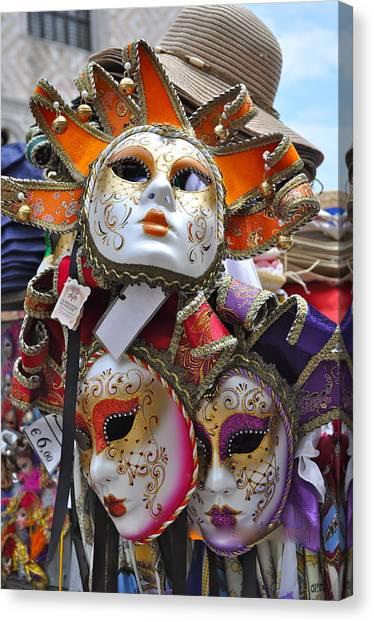 Italian Masks Canvas Print