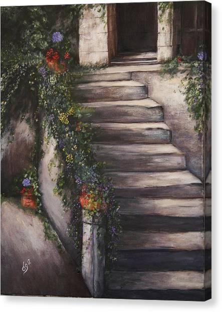Italian Steps Canvas Print