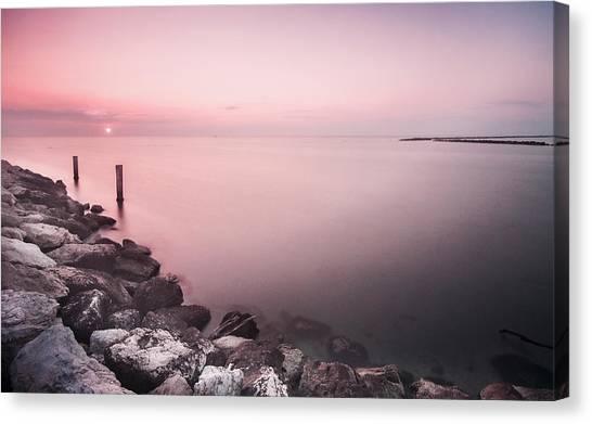 Italian Sunrise Canvas Print by Cristian Ghisla