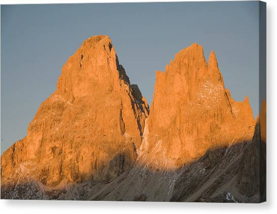 Dolomites Canvas Print - Italy, Northern Mountains by John Ford