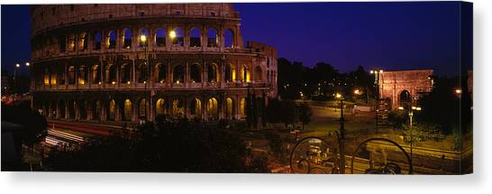 The Colosseum Canvas Print - Italy, Rome, Colosseum by Panoramic Images