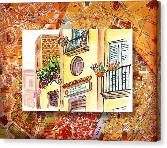 Sorrento Italy Canvas Prints   Fine Art America