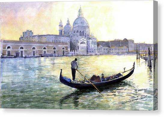 Italy Canvas Print - Italy Venice Morning by Yuriy Shevchuk