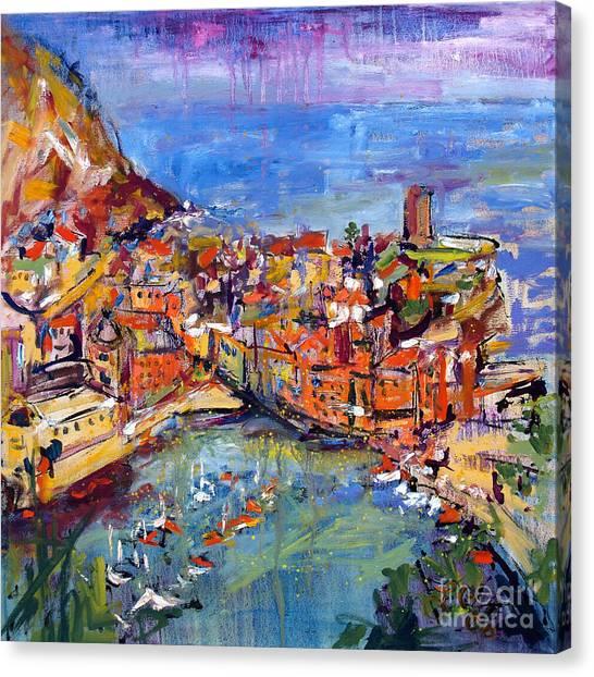 Italy Vernazza Cinque Terre Canvas Print