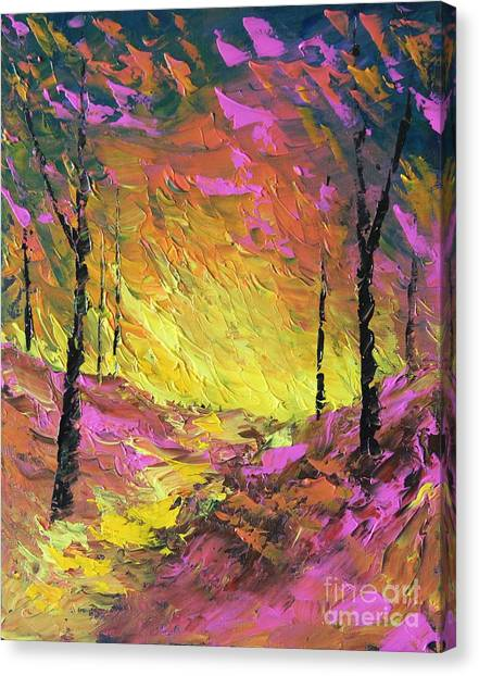Its A Colorful Life Canvas Print