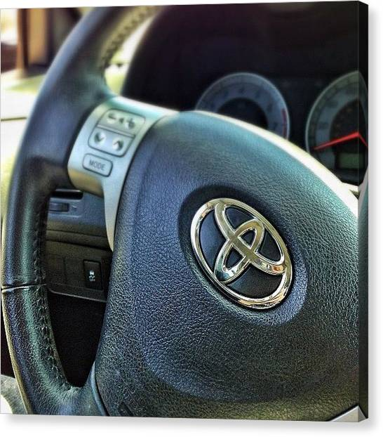 Toyota Canvas Print - It's A Different Kind Of Love. #toyota by Seth Stringer