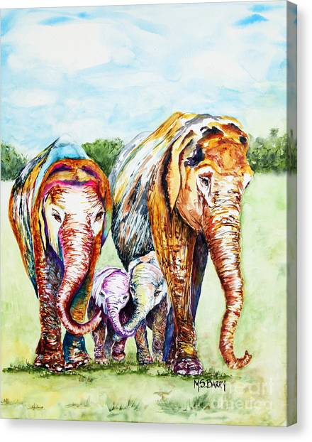 It's A Family Affair Canvas Print