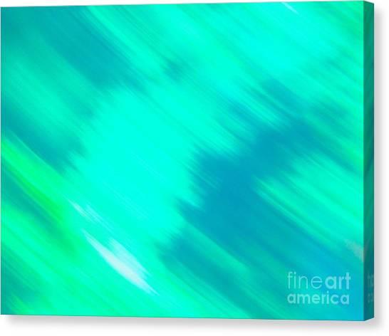 It's All A Blur  Canvas Print
