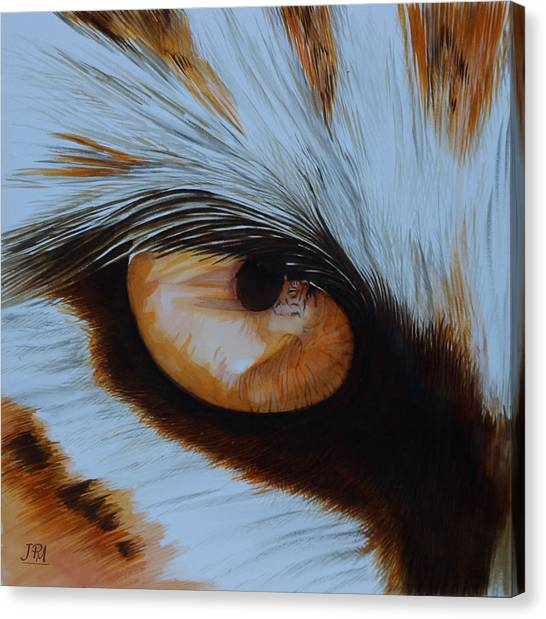 Canvas Print - It's All In The Close Up by Jill Parry