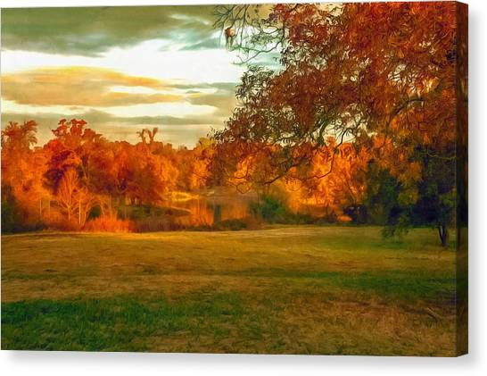 It's Fall Y'all Canvas Print