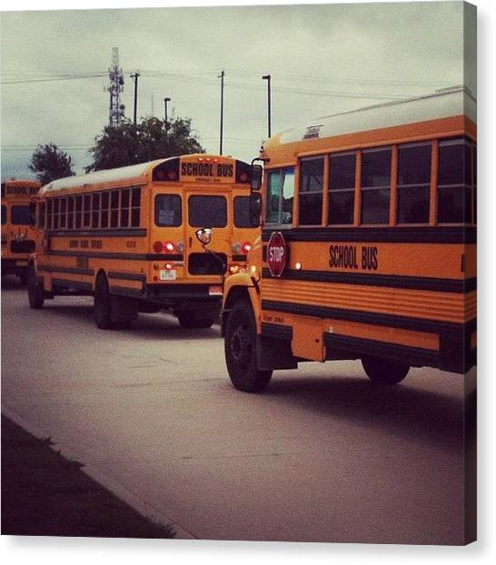 Teachers Canvas Print - It's Over!! #lastday #school #texas by Matt Cook