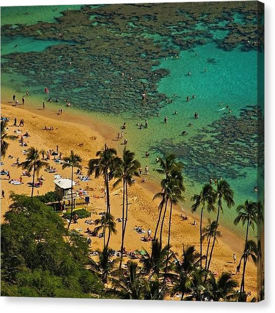 Hawaii Canvas Print - It's The Weekend, Time To Hit The by Brian Governale