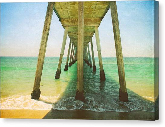 Ca Canvas Print - I've Been Here Before by Laurie Search