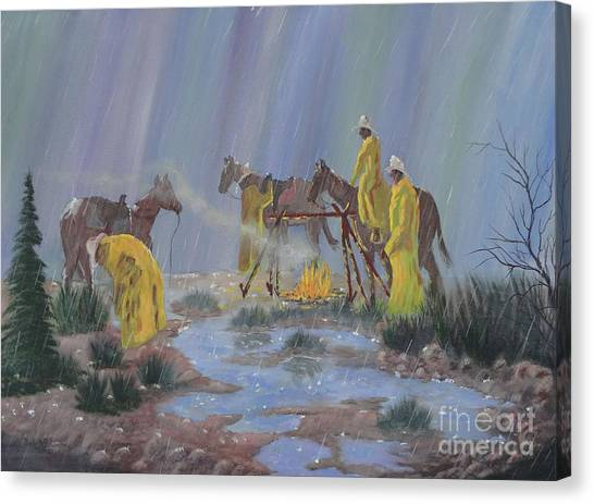I've Seen Fire-i've Seen Rain Canvas Print