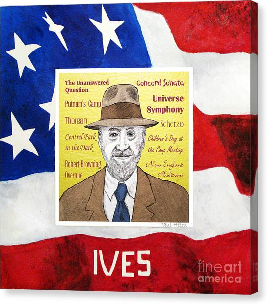 Ives Canvas Print by Paul Helm