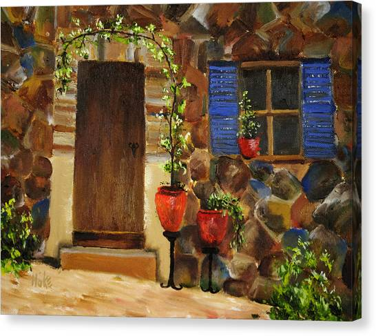 Ivy Plaza Canvas Print