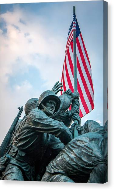 Iwo Jima Forward Canvas Print