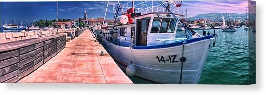 Izola Panorama Canvas Print