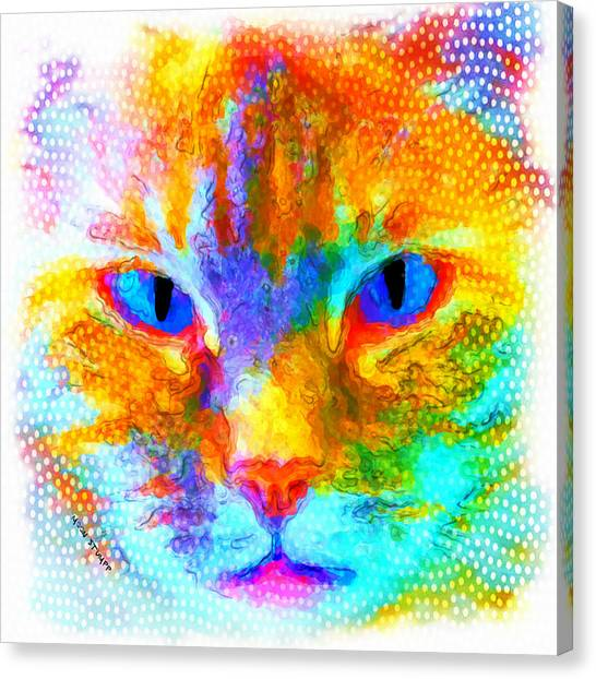 Imaginative Canvas Print - Izzy by Moon Stumpp