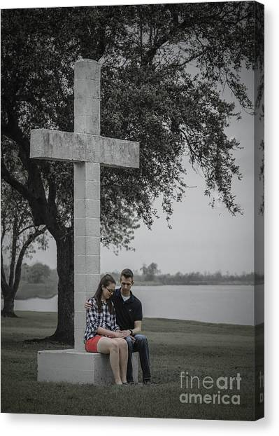J And M Canvas Print