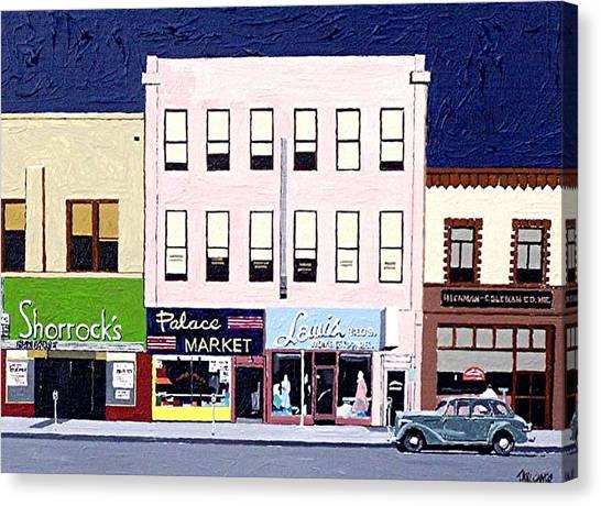 J Street Canvas Print by Paul Guyer