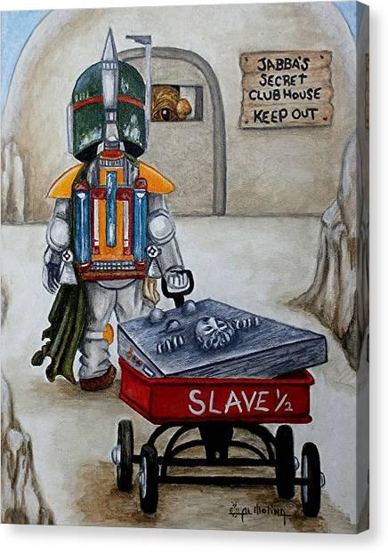 Jabba's Gift Canvas Print