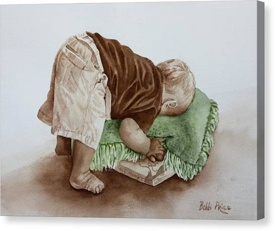 Jack Canvas Print by Bobbi Price