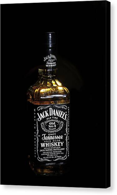 Jack Daniel's Old No. 7 Canvas Print