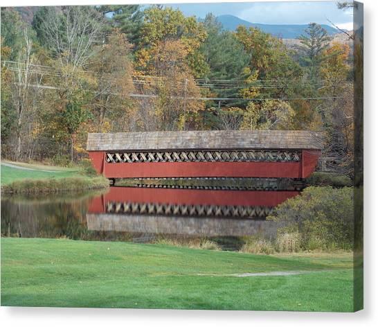 Jack O Lantern Bridge Canvas Print
