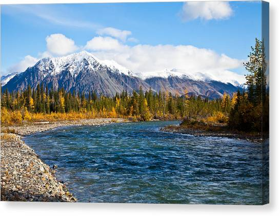 Jack River Alaska Canvas Print