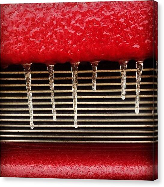 Trucks Canvas Print - Jacked-up Smile #iphone5 #instagramers by Scott Pellegrin