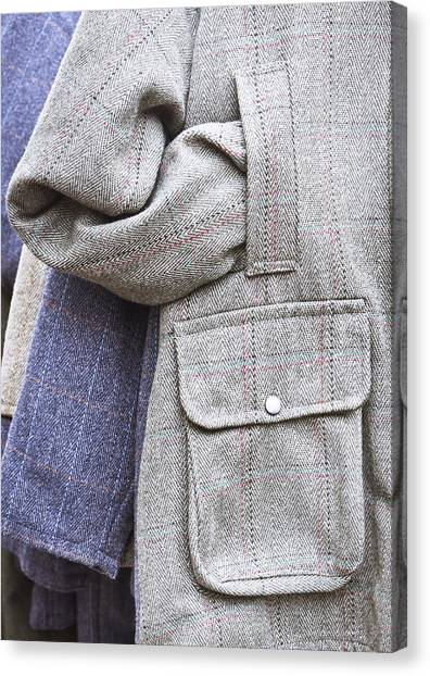 Clothing Store Canvas Print - Jacket by Tom Gowanlock