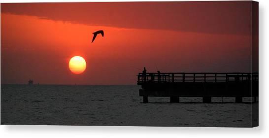 Jacks Sunrise Canvas Print