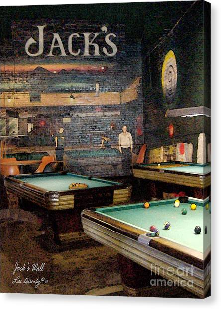 Jack's Wall Canvas Print