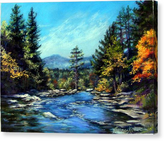 Jackson Falls New Hampshire Canvas Print