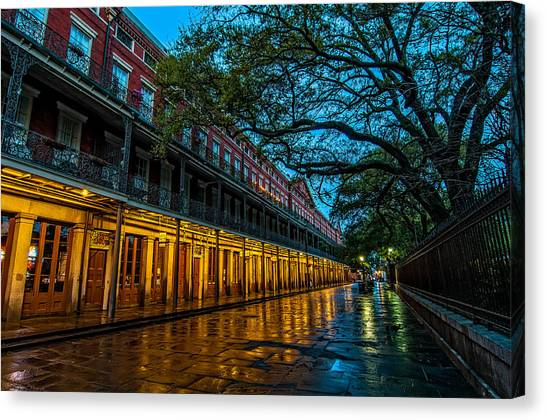 Jackson Square At Dawn Canvas Print